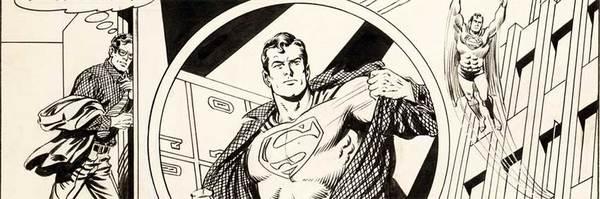 Curt Swan - Superman Original Comic Art