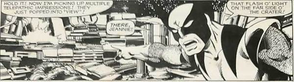 John Byrne - X-Men Original Comic Art