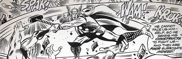 Rich Buckler - Thor Original Comic Art