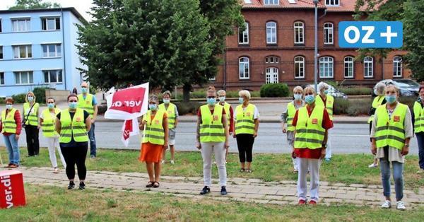 Streik in Grevesmühlen: Krankenhaus-Mitarbeiter wollen gerechte Löhne