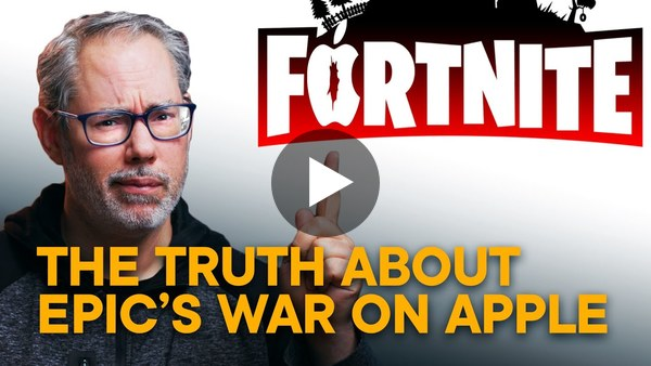 The EPIC TRUTH About Fortnite's WAR on APPLE