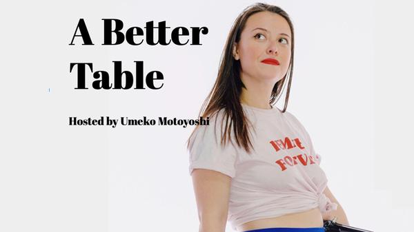 A Better Table Podcast: Umeko Motoyoshi Interviews Laetitia Mukandahiro
