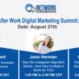 Network After Work Digital Marketing Summit: Instagram