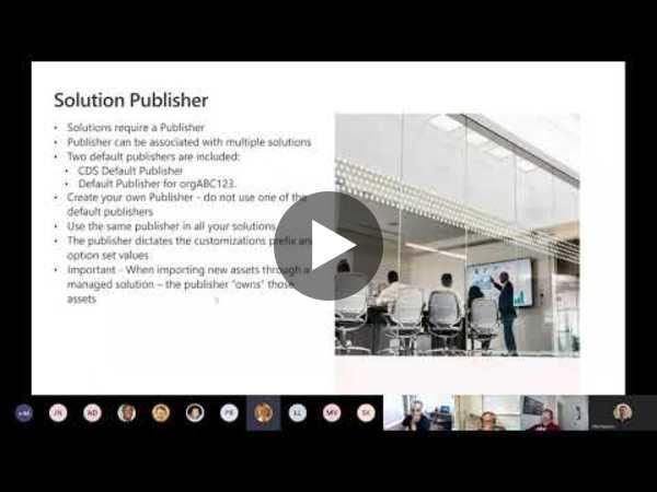 Power Platform Build Tools webinar and live demo