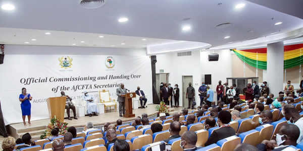 Ghana's President Akufo-Addo commissions Africa Trade House in Accra