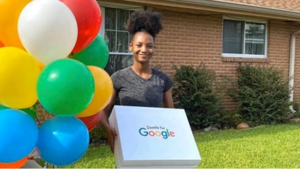Louisiana High School Student Advances In Google Competition For Doodle Depicting Black Love - Blavity News
