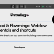 Makerpad & Flowmingo: Webflow fundamentals and shortcuts