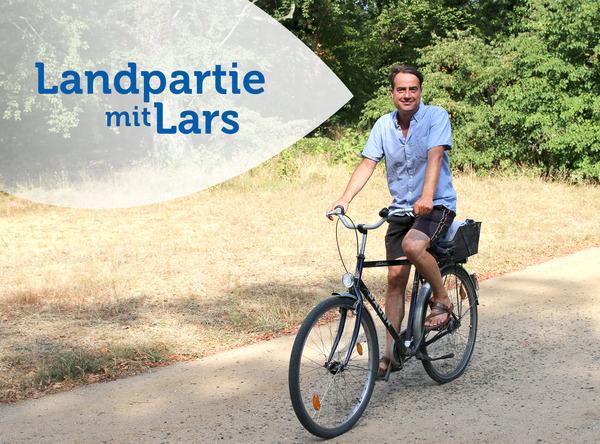 Lars Sittig erkundet Brandenburg am liebsten vom Sattel aus.