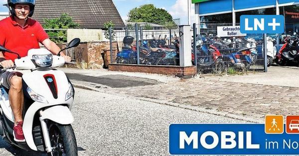 Lübeck: Motorroller wie Vespa & Co. boomen auf den Straßen