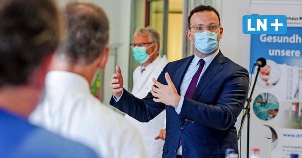 """Jens Spahn besucht DRK-Krankenhaus in Ratzeburg: """"Bislang gut durch die Krise gekommen"""""""
