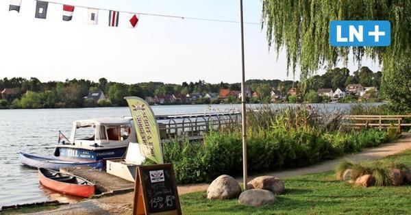 Sitzen, speisen, Boot fahren: So schön wird Möllns Stadtseeanleger