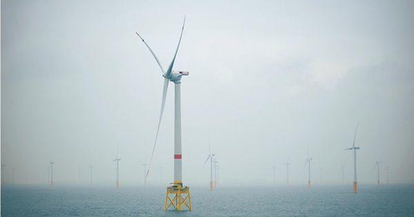 La Panne s'oppose à l'arrivée de 46 moulins à vent géants au large de la côte de Dunkerque - De Panne verzet zich tegen komst 46 reuzenwindmolens voor kust Duinkerke