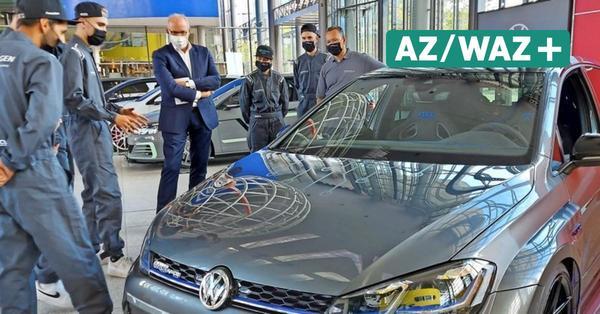 Augenschmaus in der Autostadt: Autohaus-Azubis präsentieren Showcar