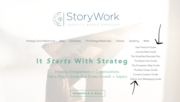 Free Strategy Guides @ StoryWork.Co