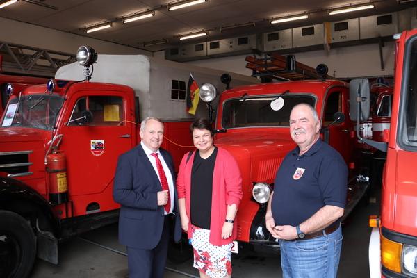 Minister zu Besuch beim Feuerwehrverein (Foto: Anja Levien)