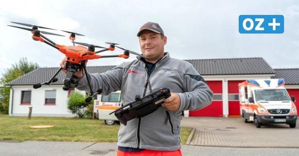 Drohnen im Rettungseinsatz: So hat Nordwestmecklenburg aufgerüstet