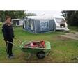 Stormschade camping: verbogen stokken en de kinderen een nachtje naar huis