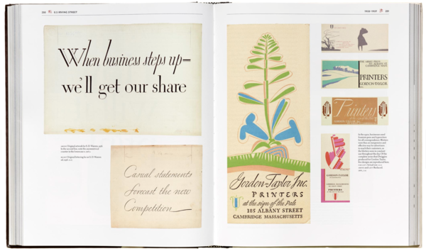 A gorgeous photo of a page from W.A. Dwiggins from LFA