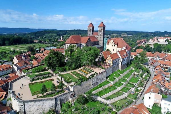 Der Stiftsberg in Quedlinburg. Foto: privat