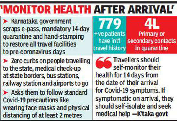 Five months on, Karnataka scraps all Covid travel restrictions