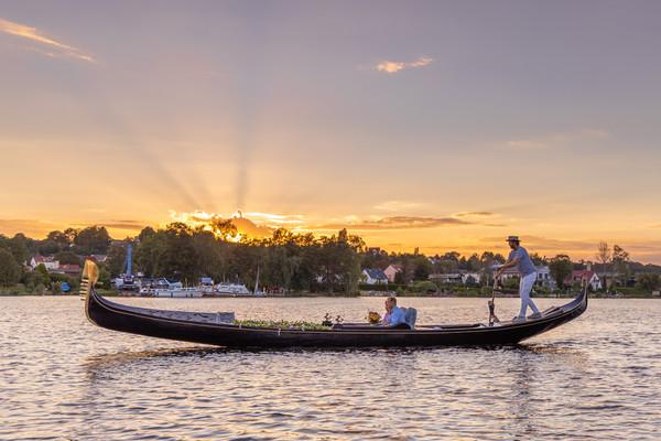 Romantik pur auf der Havel. Foto: M. Karnbach Fotografie