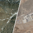 Blanked-Out Spots On China's Maps Helped Us Uncover Xinjiang's Camps