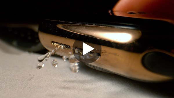 How the Apple Watch Ejects Water in Slow Mo - The Slow Mo Guys