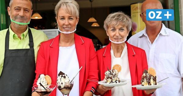 Freundlichkeit, Schnelligkeit und Kreativität: Eiscafé Moritz in Koserow hat überzeugt
