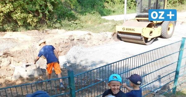 Warum Brummkreisel-Kinder den Bauarbeitern vor der Tür Danke sagten