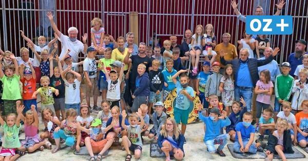So unterstützt der Lions Club Usedom einen Zirkus