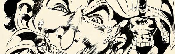Neal Adams - Batman Original Cover Art