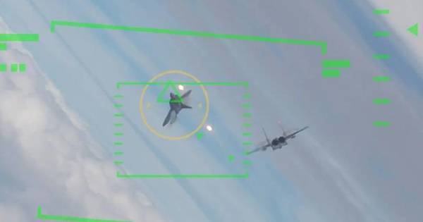 US Air Force Pilot Battling Artificial Intelligence In Five Simulated Dogfights Lost Every Time