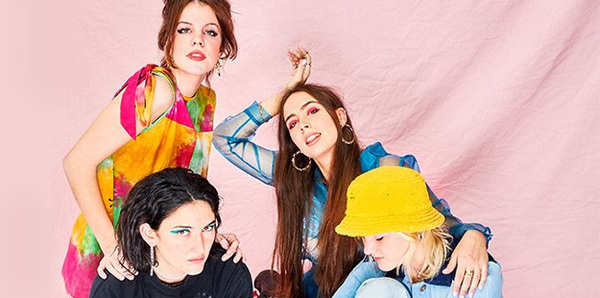 Hinds (performing live for Outside Lands today)