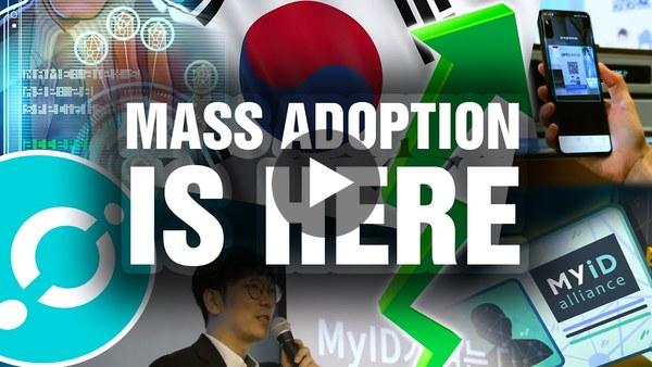 Blockchain Adoption in Korea Is Finally Here! ICON, ICX & MyID | #iconTV