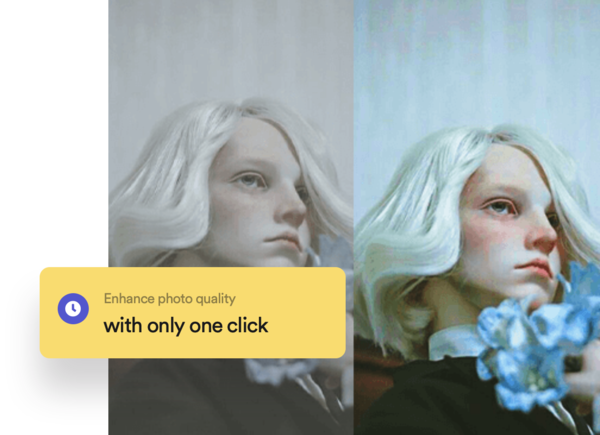 AI Image Enhancer — Web tool to enhance photo color and quality