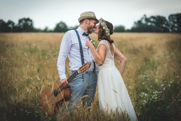 Ein Hochzeitsfoto von Sandy und Thiemo, gemacht von Dirk Pagels.