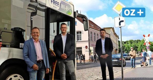 Bad Doberan: Bus fährt kostenfrei durch die Innenstadt