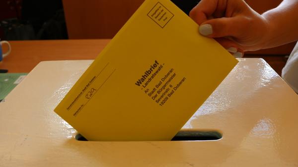Wahl im Landkreis Rostock (Foto: Anja Levien)