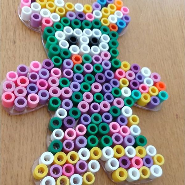 Celebrated my 5 year old granddaughter Elise doing some crafts 2gether