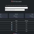 ETH Gas watch: alertas de precio