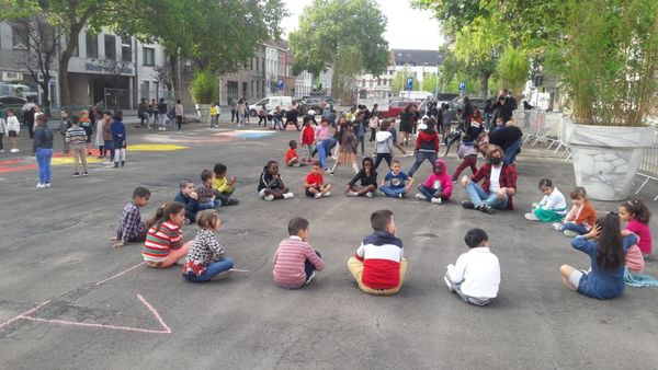 Kortrijk : Parking devient un parc urbain - Parking wordt stadspark