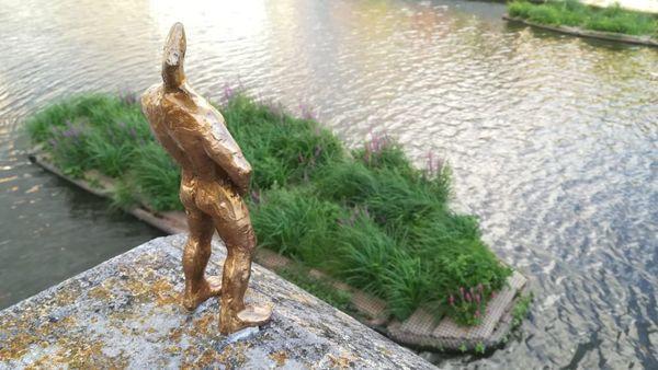 Les figurines montrent Courtrai d'un autre côté - ZieMie-beeldjes laten Kortrijk van een andere kant zien