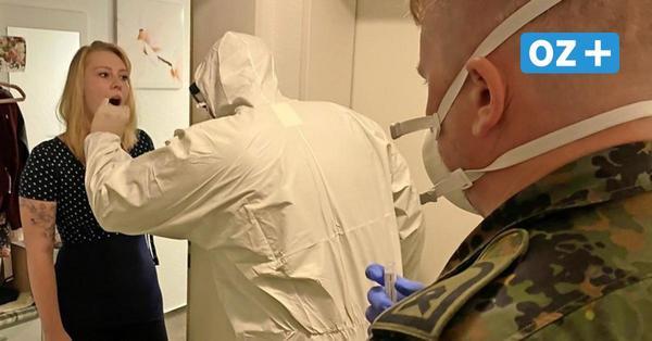 Vorpommern-Rügen: Mit der Bundeswehr unterwegs im Kampf gegen Corona