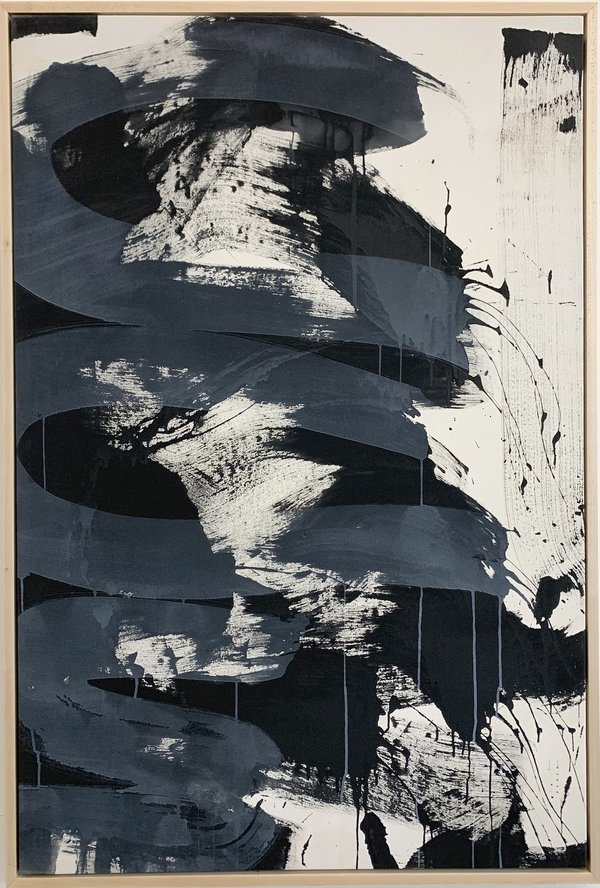 Monica Perez, Milan,  Acrylic on canvas