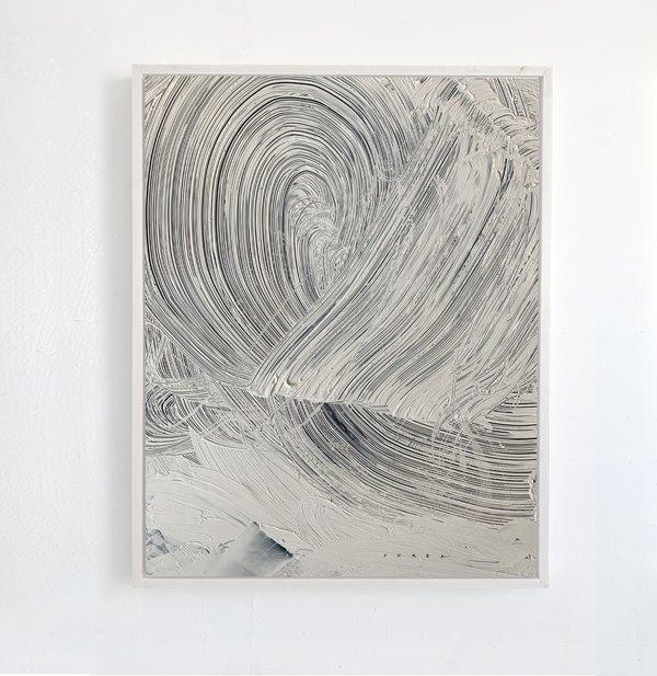 Monica Perez, Fly, Acrylic on Yupo paper