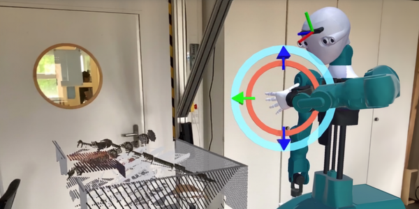 New AR app helps engineers visualize data to improve robot design