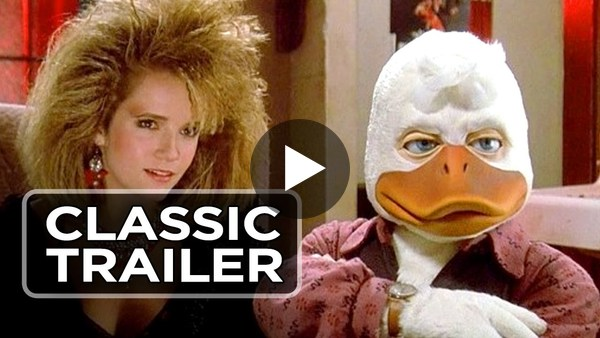 Howard the Duck Official Trailer #2 - Tim Robbins Movie (1986) HD