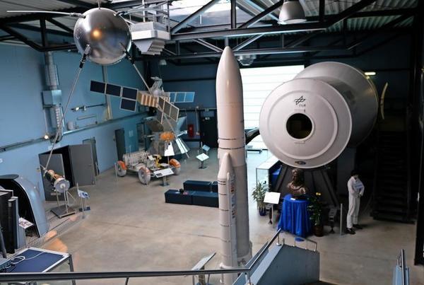 Raumfahrtmuseum in Morgenröthe-Rautenkranz. Foto: Roland Herold