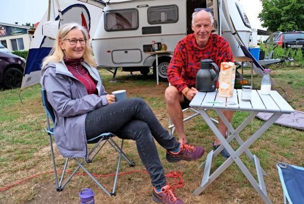 Norbert und Bianca kommen aus Bayern ins Vogtland. Quelle: Roland Herold