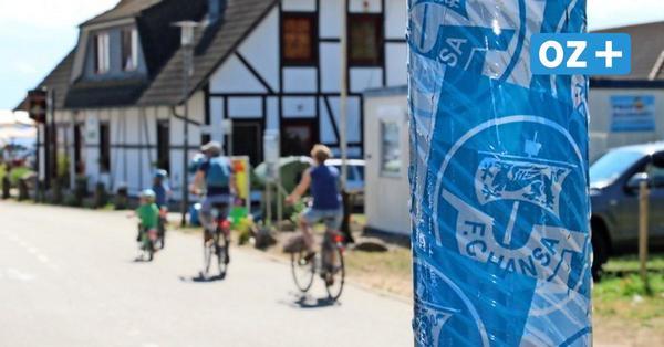 Für ein schönes Ostseebad: Boltenhagens Bauhof kämpft gegen Graffiti und Aufkleber